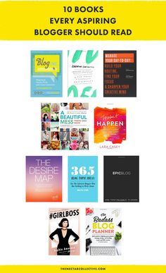 10 Books Every Aspiring Blogger Should Read | These books are great inspiration for creative bloggers.