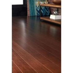 Home Decorators Collection Strand Woven Java in. W x 72 in. L Engineered Click Bamboo - The Home Depot Lodge Look, Modern Lodge, Bedroom Flooring, Create Space, Red Oak, Indoor Air Quality, Wood Species, Java, Hardwood Floors