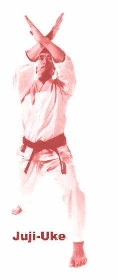 Juji-Uke 2 Karate Moves, Karate Karate, Taekwondo, Shotokan Karate, Kyokushin, Art Academy, Aikido, Judo, Jiu Jitsu
