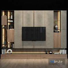 Tv Shelf Design, Tv Cabinet Wall Design, Tv Unit Interior Design, Tv Wall Cabinets, Tv Wall Design, Modern Tv Room, Modern Tv Wall Units, Modern Tv Cabinet, Wall Unit Designs