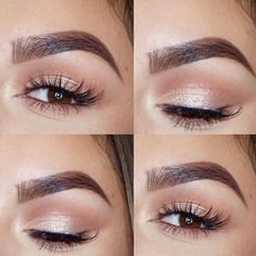 natural makeup for brown eyes \ natural makeup ; natural makeup for brown eyes ; natural makeup for black women ; natural makeup looks ; natural makeup for blue eyes ; natural makeup for green eyes Eye Makeup Art, Blue Eye Makeup, Skin Makeup, Makeup Inspo, Eyeshadow Makeup, Makeup Inspiration, Makeup Ideas, 80s Makeup, Fairy Makeup