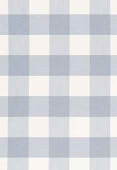 Fabric | Antigua Plaid in Cornflower | Schumacher