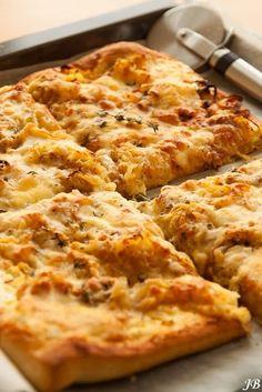 Tarte flambée recept - Pizza - Eten Gerechten - Recepten Vandaag