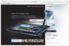 Samsung Galaxy Studio by Michal Galubinski, via Behance