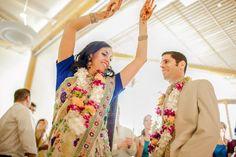Colorful, Indian-Jewish Fusion Wedding - Project Wedding