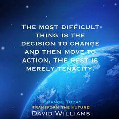 Success Is Not Final, Change Management