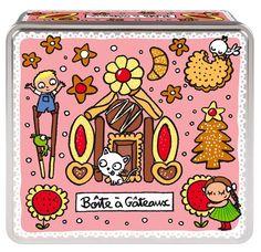 keladeco.com - #boite a #gateaux, idée deco cuisine, boite valérie nylin, boite derriere la porte - DLP