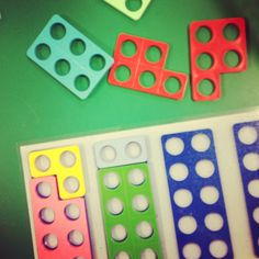 Colour photocopy Numicon plates to make resources. Here a series of 10 shapes have been photocopied for number bond activities! Maths Eyfs, Preschool Math, Kindergarten Math, Numicon Activities, Literacy And Numeracy, Teaching Numbers, Teaching Math, Maths Area, Math Division