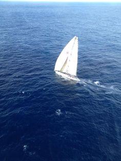 Sydney to Hobart yacht race, off the coast of Merimbula, NSW  Sent via twitter: @amy_bainbridge:   27/12/2012