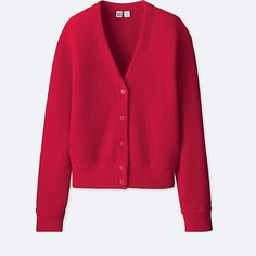 Uniqlo Wool V-Neck Cardiagn Promotion Strategy, Jacket Style, Who What Wear, Uniqlo, V Neck, Colour, Wool, Sweaters, Stuff To Buy