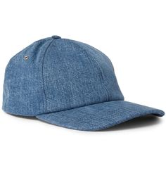 Made from blue denim, this baseball cap by Parisian brand <a href='http://www.mrporter.com/mens/Designers/AMI'>AMI</a> is the perfect casual punctuation for weekend looks. The adjustable back tab provides an exacting fit, while the internal browband is lightly padded for comfort.