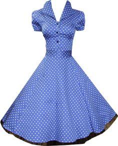 Pretty Kitty Fashion 50s Polka Dot Blau Weiß Cocktail Kleid XS Pretty Kitty,http://www.amazon.de/dp/B008VX1OS0/ref=cm_sw_r_pi_dp_lc5Htb1ZGDF8YK86