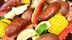 Seafood Boil! Crab Sausage Shrimp & Potatoes Oh My! |Cooking With Carolyn