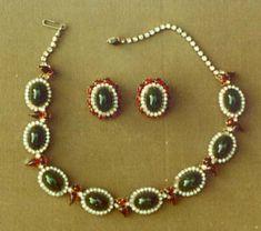 1950s  Hattie Carnegie, Inc. | Jewelry set | American | The Metropolitan Museum of Art