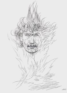 Austin Osman Spare by himself.
