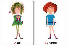Floddertje - vies en schoon - schoonmaken Vans Top, Children's Book Illustration, Schmidt, Kids Learning, Childrens Books, Little Girls, Preschool, Doodles, Teen