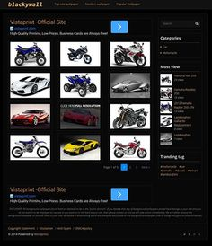 Why black?? Because this layout is high CTR for wallpaper site. With 728px banner support in single and homepage, can boost your PPC program like adsense, and much more. This theme is fast loading only 2 second load in homepage. SEO with h1,h2 and h3 structure.  Blackywall has all the things that a profesional wallpaper website needs.