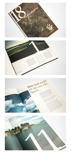 gestaltung und layout des fontana imagefolders Editorial Design, Layout, Cover, Page Layout, Blankets, Editorial Layout