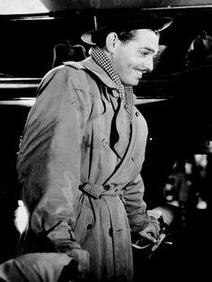 "Clark Gable in ""It Happened One Night"" (1934)  Best Actor Oscar 1934"