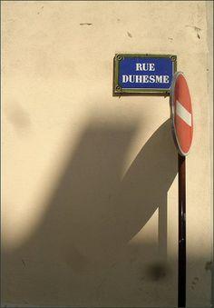 La rue Duhesme  (18ème arrondissement)