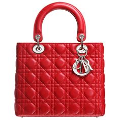 bright red Lady Dior tote bag $225.00 Save: 76% off for sale in http://www.viptote.com/dior-bag-lady-dior-bag-c-88_91.html double click to see more>>