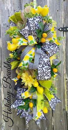 Your place to buy and sell all things handmade - Holiday wreaths christmas,Holiday crafts for kids to make,Holiday cookies christmas, Summer Swag, Summer Wreath, Spring Wreaths, Wreath Crafts, Diy Wreath, Wreath Making, Wreath Ideas, Grapevine Wreath, Blue Centerpieces