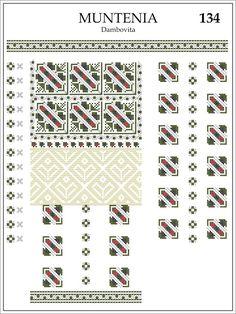 Semne Cusute Folk Embroidery, Modern Embroidery, Embroidery Patterns, Cross Stitch Patterns, Knitting Patterns, Knitting Storage, Knitting Needle Sets, Circular Knitting Needles, Crochet Hook Set