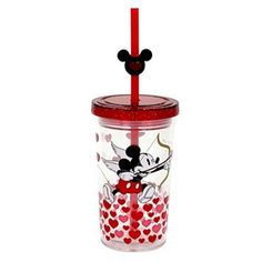 Mickey Mouse Valentines Tumbler