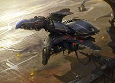 Concept ships by Matias Murad. (via concept ships: Concept ships by Matias Murad)
