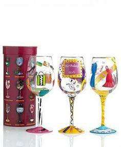 4465f9349c0f Designs By Lolita Wine Glasses Reptile Light Bulb Art