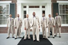 Beautiful Brown Brides Preview Groomsmen In All Thier Glory