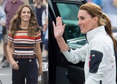 Kate Middleton shows off blonde hair transformation! See her colour change - Photo 1 Blonde Highlights Underneath, Kate Midletton, Blonde Hair Transformations, Bouncy Blow Dry, Kate Middleton Hair, Royal Colors, Young Prince, Brunette To Blonde, First Pregnancy