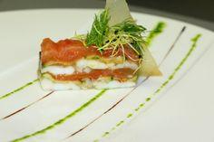 terrine de sole et de saumon   exemple de plat pour la formule demi-pension