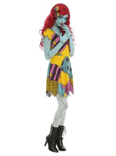 The Nightmare Before Christmas Sally Cosplay Dress | Hot Topic