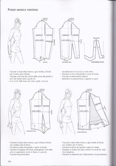 MANGA. SLEEVES.#ClippedOnIssuu from Patternmaking Vol.2