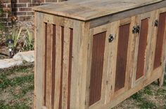 YOUR Custom Rustic Barn Wood Credenza or by timelessjourney