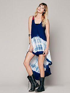 Maheya Shibori Swing Dress