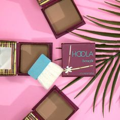 Who's ready to do the hoola!? Dust our fave matte bronzer on cheeks, chin & forehead for a natural-looking glow all year long!