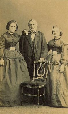 Família desconhecida, 1860.