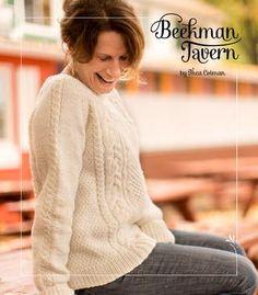 Thea Colman's Beekman Tavern- The rhinebeck sweater lookbook by Ysolda Stewart Teague