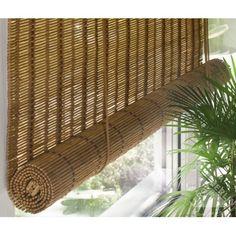 Штора рулонная, бамбук, Медь 60х160 см, Шторы рулонные - Каталог Леруа Мерлен