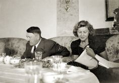 One of the best candid shots Adolf and Eva