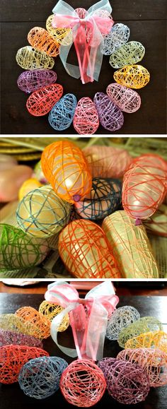 Mesh Easter Wreath | DIY Easter Decor Ideas for the Home | DIY Spring Decorations for the Home