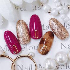 Luv Nails, Pastel Nails, Cute Acrylic Nails, Bling Nails, Fall Nail Art, Cute Nail Art, Shellac Nail Colors, Hello Kitty Nails, Stiletto Nail Art
