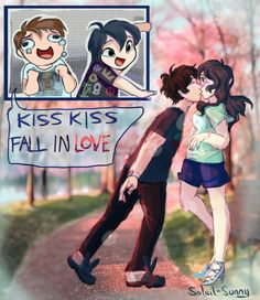 Dil's first kiss