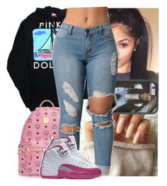 A fashion look from December 2016 featuring light wash jeans, mini backpacks and Felony Case tech accessories. Urban Fashion, Teen Fashion, Dope Fashion, Fashion Killa, Swag Outfits, Dope Outfits, Young Adult Fashion, Teenager Outfits, Teen Outfits