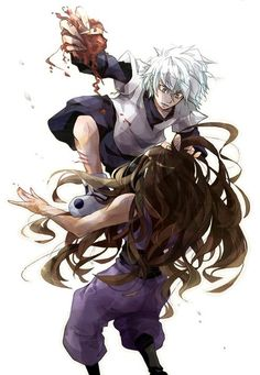 Killua Zoldyck And Illumi Hunter X Favorite Art