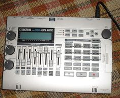 Boss BR 600 Digital Recorder with manual and adapter #Boss