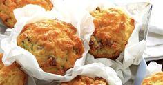 15 recettes de muffins en version salée - Muffins au thym, aux carottes et au fromage - Cuisine AZ