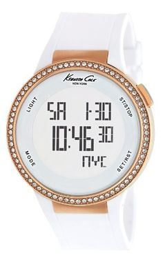 Floral LED Digital Womens Watch with Date- - Water Resistant - LED ...